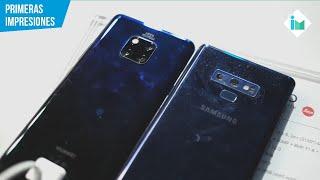 Samsung Galaxy Note 9 vs Mate 20 Pro | Primeras impresiones