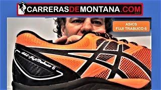 Asics Trabuco 6: Zapatillas trail running. Análisis por Mayayo