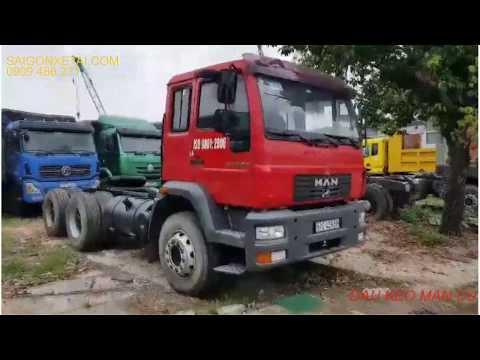 Giới thiệu xe đầu kéo MAN cũ đời 2011 6x4 giá rẻ TP.HCM - YouTube