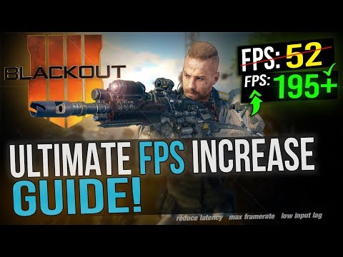 🔧 Black Ops 4 BLACKOUT: Dramatically increase performance /