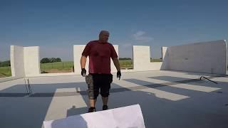 #vlogbudowlany. Ściana nośna, przygotowanie pod układanie kostki brukowej. Sam zbuduj swój dom.