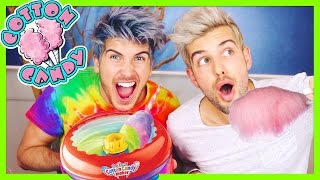 MAKING HOMEMADE COTTON CANDY!