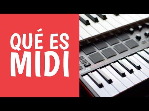 El Poder del MIDI en la Música [¿Qué es MIDI?] Tecnología Musical
