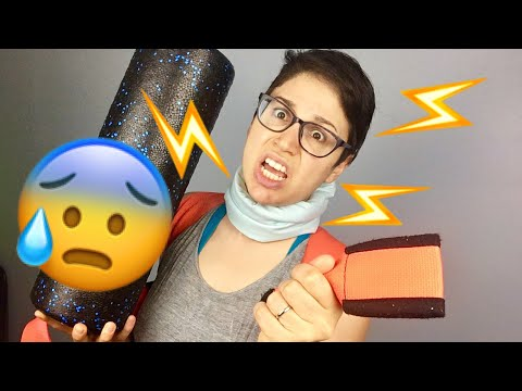I Tried to Cure a Pinched Nerve (PART 2)| Home Remedies+Exercises & Pillows