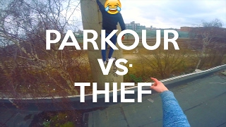 PARKOUR vs. THIEF - POV Parkour | JonaTV
