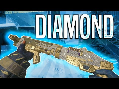 Diamond Camo Shotguns! Black Ops 4