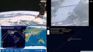 Passing Around Australia And New Zealand NASA/ESA ISS LIVE Space Station With Map - 573 - 2019-03-19