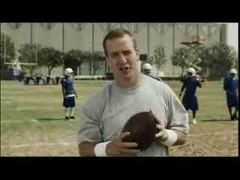 "Peyton Manning - Pep Talk - ""I drive a minivan"" for FELLA"