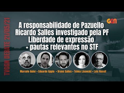 PAZUELLO MENTE À CPI | SALLES INVESTIGADO | LIBERDADE DE EXPRESSÃO E MAIS