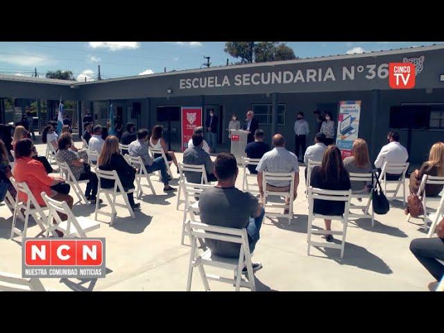 CINCO TV - Alumnos de escuelas de gestión estatal de Tigre recibieron más de 1600 netbooks