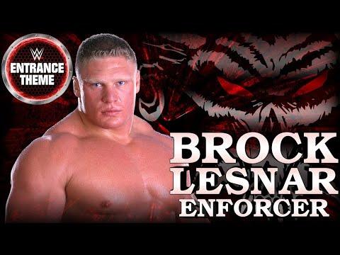 Brock Lesnar 2002 Unused -