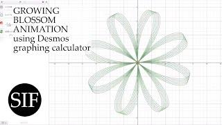 Growing Blossom Tutorial (Desmos Graphing Calculator)
