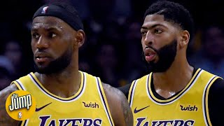 The Lakers will face adversity if LeBron James or Anthony Davis get injured - Zach Lowe | The Jump