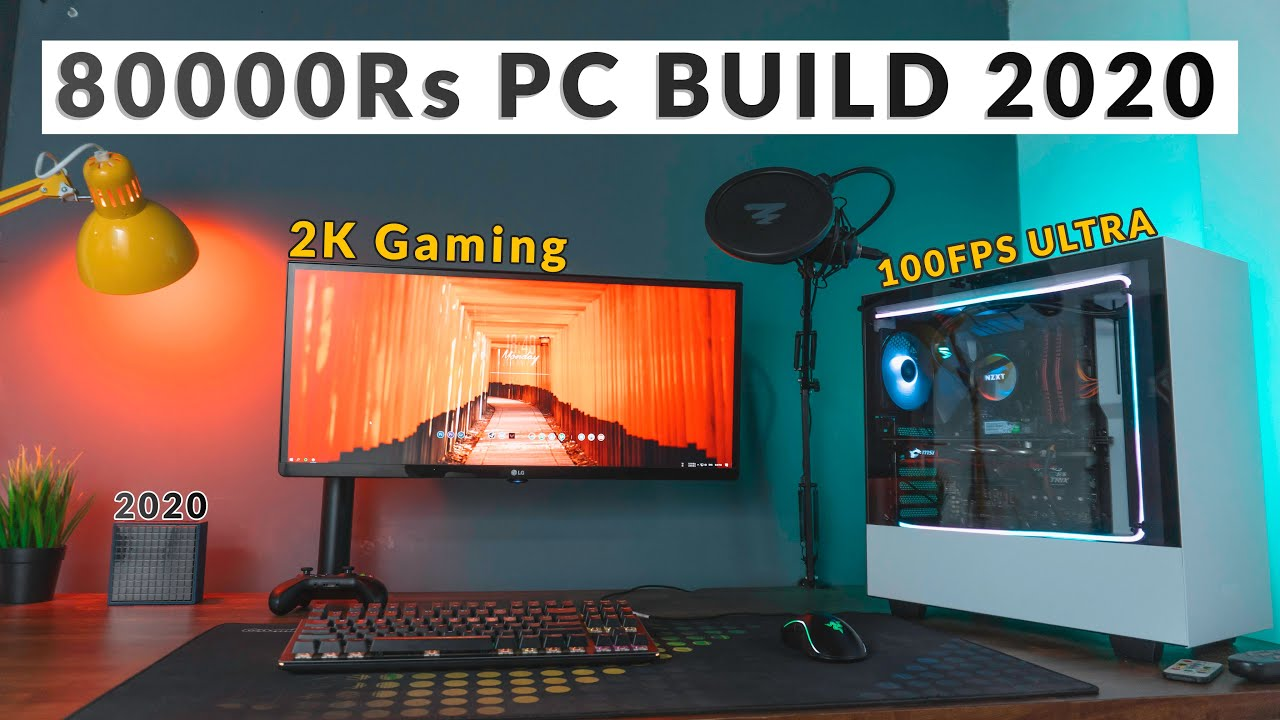 Best PC build Under 80000 | 2K Gaming Starts Here !