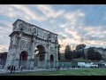 Arch of Constantine next to the Colosseum, Rome, Italy