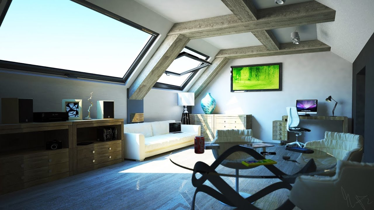 Cinema 4d And Vray Interior Design Visualization Robo Pie Video Hd Youtube