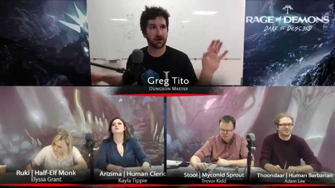 D&D - Out of the Abyss Live - Session 2 Part 1