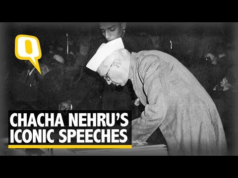 Nehru's Most Iconic Speeches and The History Behind Them