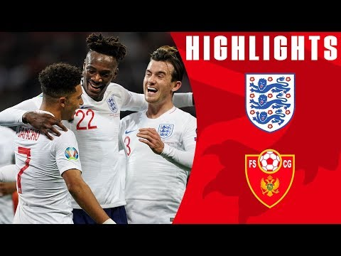England 7-0 Montenegro | Three Lions Shine in Seven Goal Win
