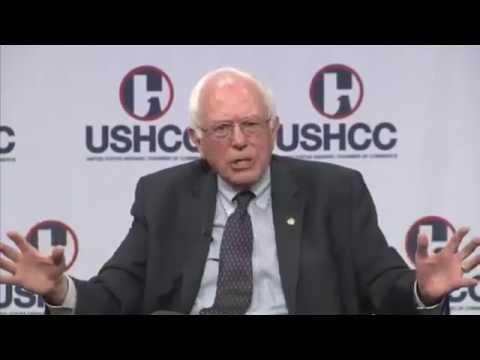USHCC Presidential Candidate Q&A Series: Senator Bernie Sanders