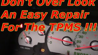 How To Diagnose And Repair The TPMS System