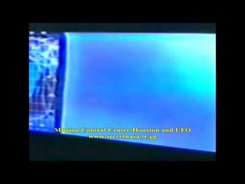 Mission Control Center and UFO-Houston-NASA