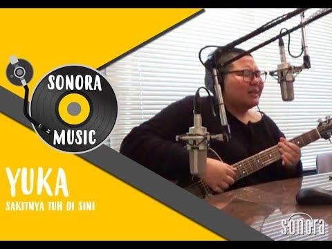 Yuka Tamada - Sakitnya Tuh Disini Live at Sonora FM 92