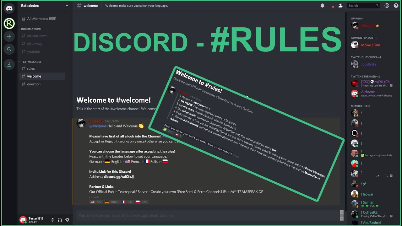 Discord Server Rules Template Discordtutorial Com 9