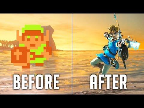 Evolution of The Legend of ZELDA