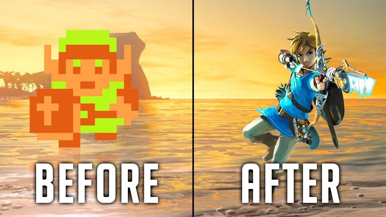 Princess Wallpaper Hd Evolution Of The Legend Of Zelda Youtube