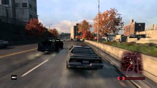 WATCH DOGS chase gameplay (takedown mission)