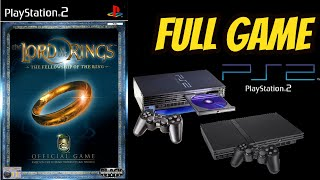 The Lord of the Rings: The Fellowship Of the Ring Gameplay Walkthrough (PS2) NO COMMENTARY