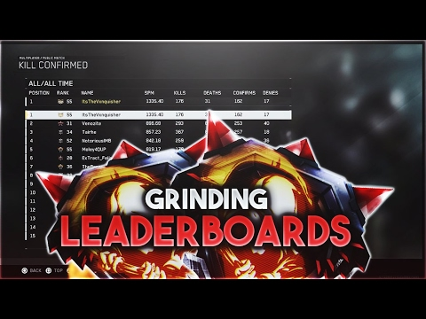 Grinding for Leaderboard in IW