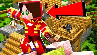 Minecraft: JOINING THE AVENGERS!!! - SUPERHEROES TRAINING - Custom Map