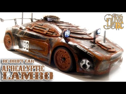 RC DRIFT CAR - POST APOCALYPTIC LAMBO  [PART 1/2]