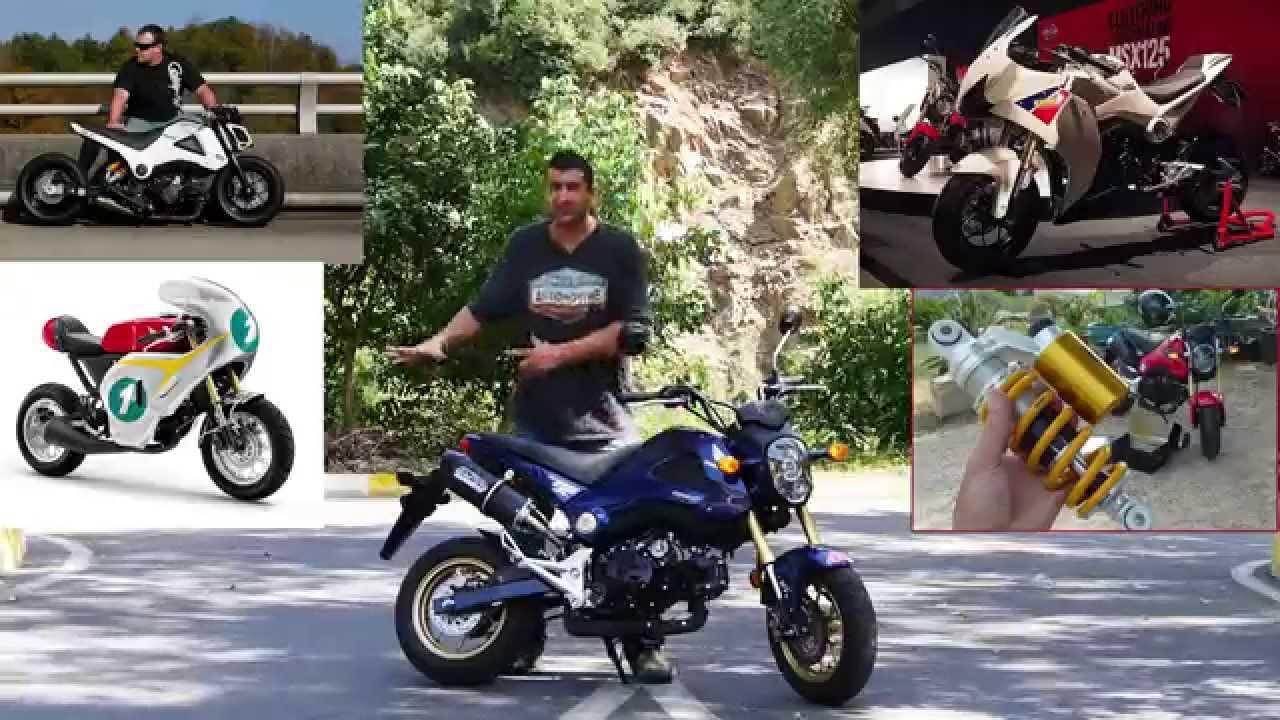 Honda Msx125 (Grom) - YouTube