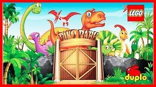 ЛЕГО МУЛЬТИК: ЛЕГО парк Юрского периода. В мире динозавров.I Видео для детей. #Развивающее_видео