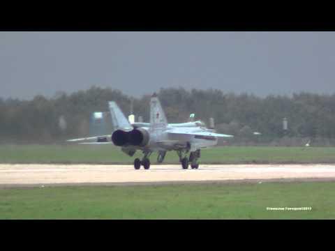 МиГ-31 Запуск и