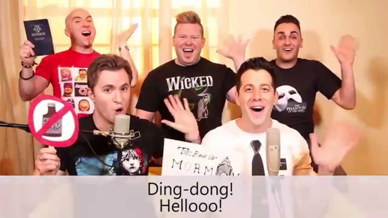 VoicePlay - ACA TOP 10 Broadway (Lyrics Video - Full HD) - YouTube