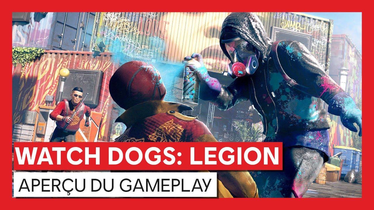 Watch Dogs : Legion - Aperçu du gameplayVOSTFR HD