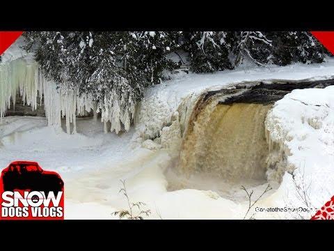 Tahquamenon Falls FROZEN!!