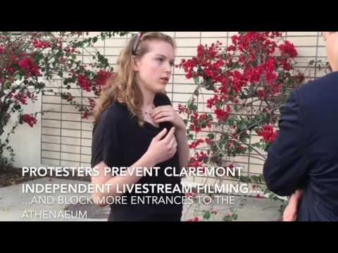 Student Mob Shuts Down 'Blue Lives Matter' Lecture at Claremont McKenna College
