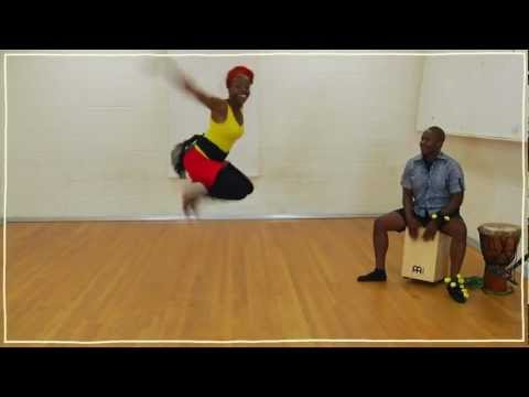 Five(ish) Minute Dance Lesson: African Dance: Lesson 1: Dinhe