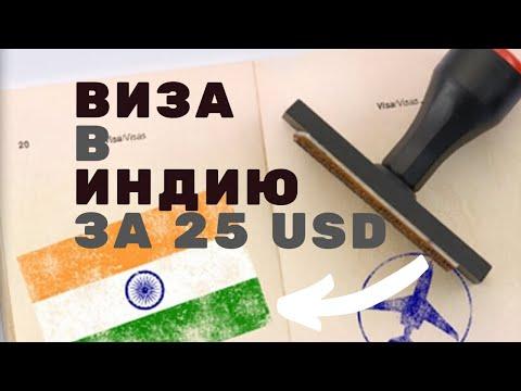 Электронная виза в Индию // Тур в Индию на Гоа // Самостоятельное оформление