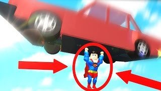 BEING A SUPERHERO IN ROBLOX (Super Hero Life)