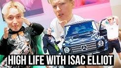 Isac Elliot lähti synttäreiltä sairaalaan