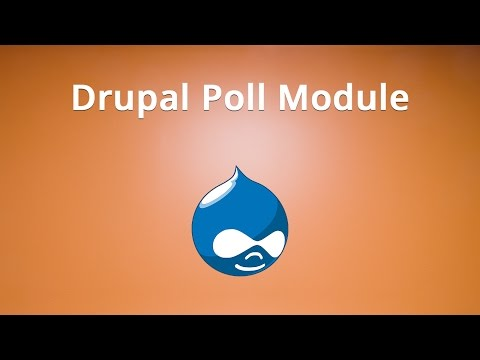 How to use the Drupal Poll Module