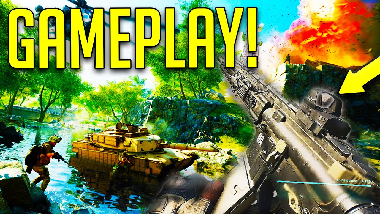 BATTLEFIELD 2042 OPEN BETA & PORTAL GAMEPLAY! - BF EARLY ACESS NEW NEWS!