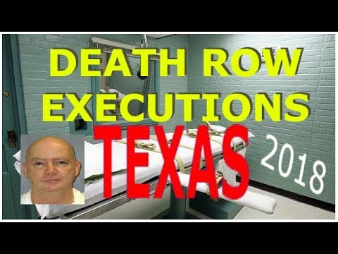 DEATH ROW EXECUTIONS 2018 - TEXAS, U.S.A. - ANTHONY SHORE