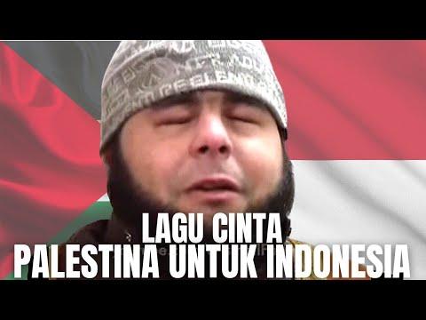 Lagu Cinta dari Penghapal Al-Quran Tunanetra di Gaza Palestina untuk Warga Indonesia